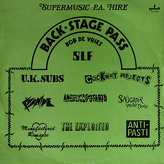 Various ‎– Back-Stage Pass
